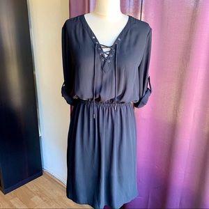 Mossimo Black Chiffon Dress